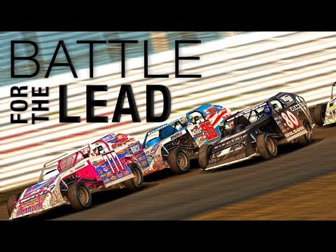 iRacing: McKinney and Wilson Battle for the Lead at