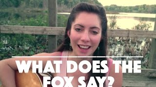 😼What does the fox say? - Ylvis (cover by Jessica Allossery)