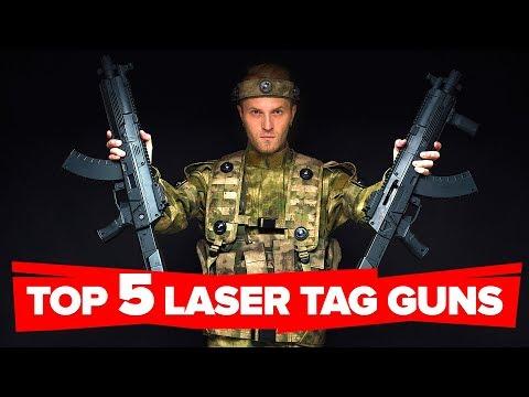TOP 5 Best Laser Tag Guns