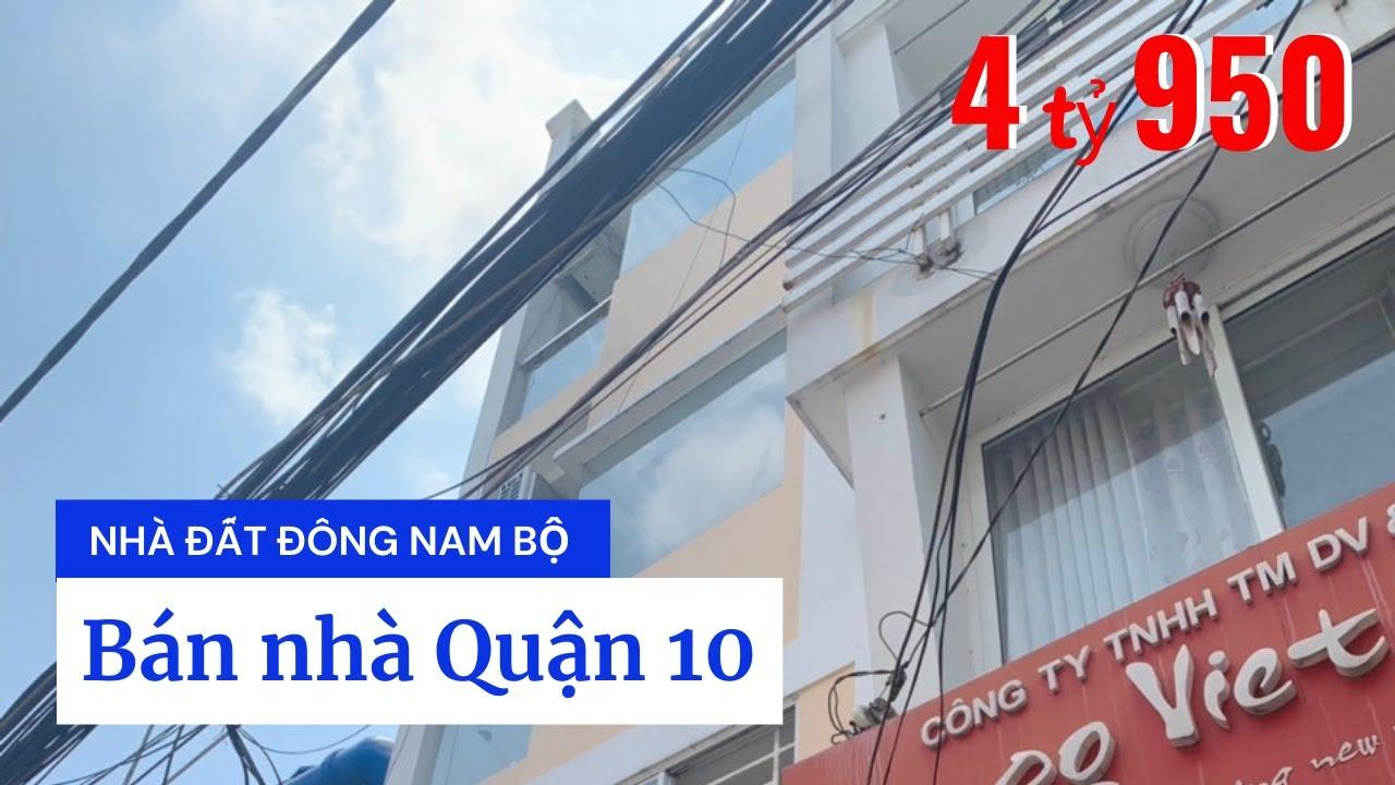 Bán Nhà Quận 10 Hẻm 282A Nguyễn Tri Phương, P.4, Q.10 Giá Dưới 5 Tỷ Mới Nhất 2020