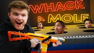 NERF Whack-A-Mole Challenge!