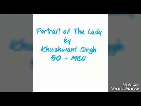 """Portrait of The Lady ""by Khushwant Singh ,50+ MCQ Mp3"
