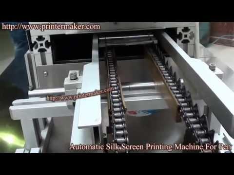Automatic Silk Screen Printing Machine For Pen,Pencil