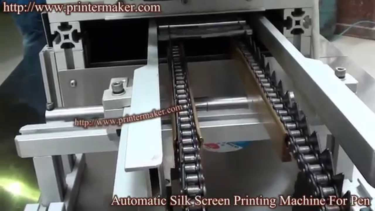 how to make a silk screen machine
