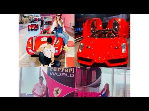Tour of Ferrari World Abu Dhabi Ferrari World Abu Dhabi All Rides Tour Theme Park  28 June 2021