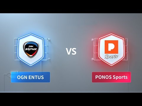 OGN ENTUS vs PONOS Sports - 2018 Clash Royale League Asia week 3 day 2