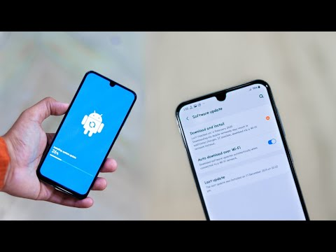 Samsung Released Stable Android 10 Update For A50 With One Ui 2😀