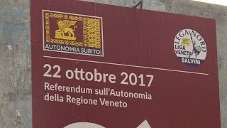 Venice votes in a consultative referendum for greater autonomy