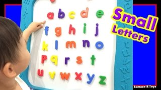 ABC Alphabet Toddlers Kids Learn ABC Small Letters A to Z for Preschool Kindergarten Bamzee R Toys