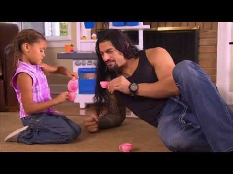Roman Reigns: 'Take Time to Be a Dad Today'