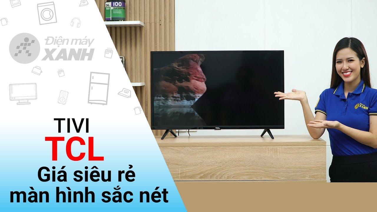 Tivi TCL: 32 inch, màn hình nét, giá rẻ, tính năng cơ bản (L32D3000) | Điện máy XANH