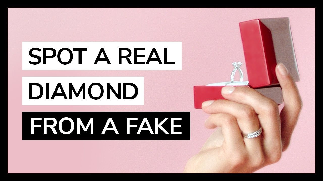 How to Spot a Real Diamond from a Fake by JamesAllen.com | Featuring ...
