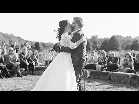 A Natural, Meaningful Wedding on a Tree Farm - Martha Stewart Weddings