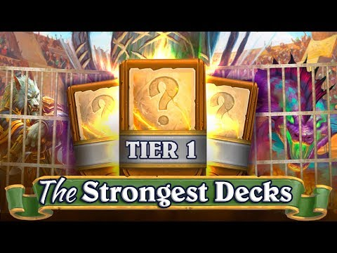 Top Hearthstone Decks to Climb Ladder: The Strongest Decks for every class ✓