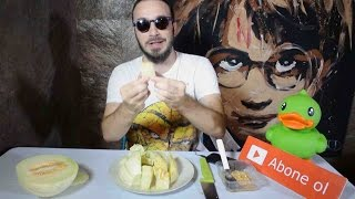 Farklı bir kavun - karpuz kesme yöntemi Failimsi :) Failish (How to cut watermelon/melon) ENG SBT
