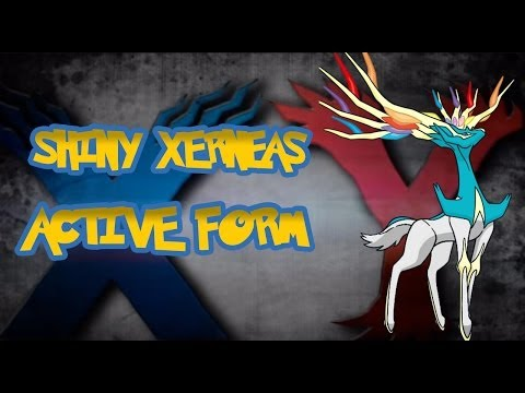 Shiny Xerneas In Both Forms!