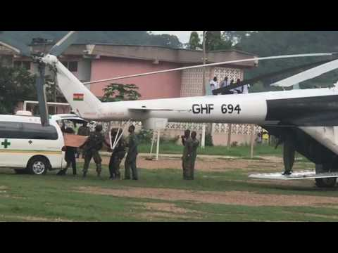 Capt Mahama flown to Accra
