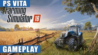 Farming Simulator 16 PS Vita Gameplay