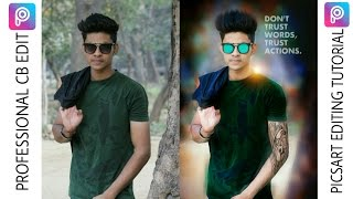 How To do Professional CB EDITING In picsart || Picsart Editing Tutorial || Taukeer Editz
