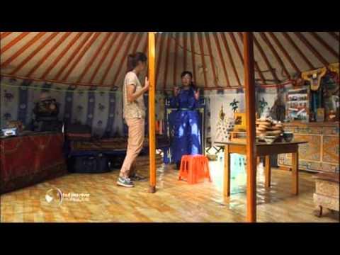 Visite d'une yourte mongole - Faut Pas Rêver en Mongolie (extrait)