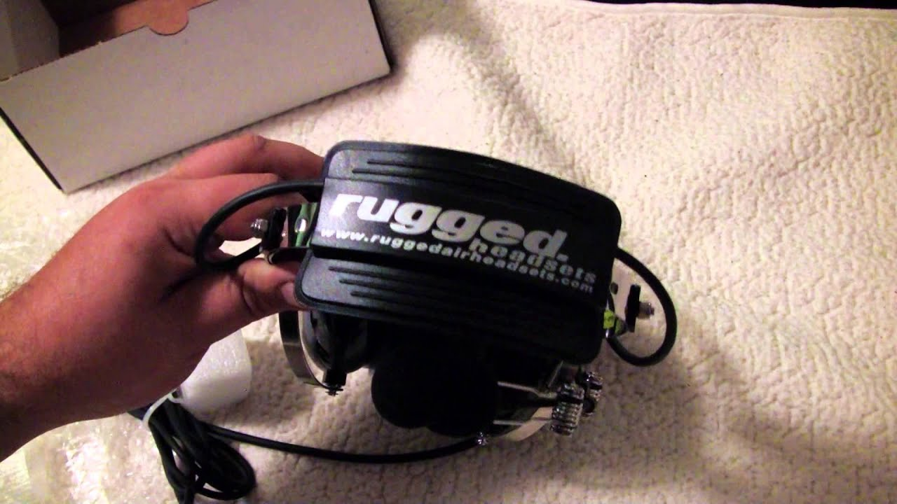 4bea18fddff Unboxing the Rugged RA-200 Headset - Premiere Aviation HD - YouTube