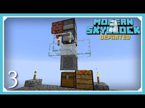 Modern Skyblock 3 Departed | Condenser, Crucible & Alchemical Fusion! | E3 (Modern Skyblock 3 Gated)