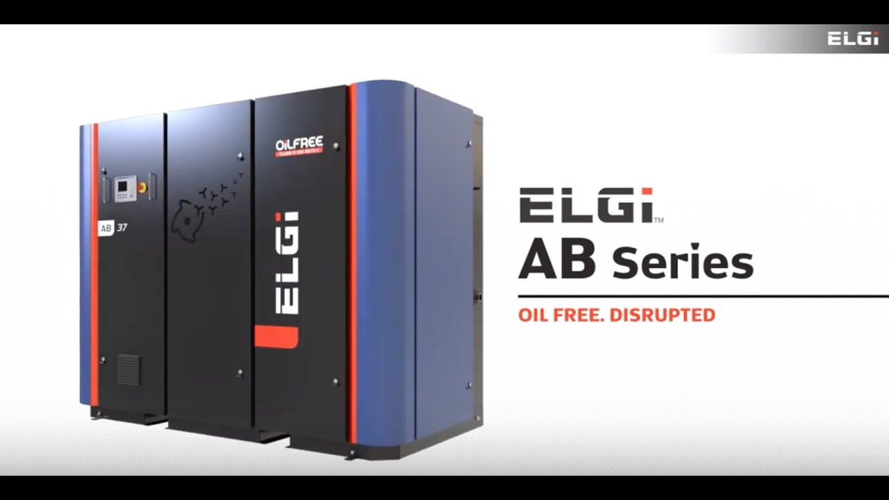 ELGi's oil-free air compressors offer lowest cost of ownership