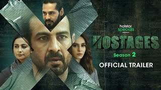 Hostages Season 2 Official Trailer | Ronit Roy | Sudhir Mishra | September 9