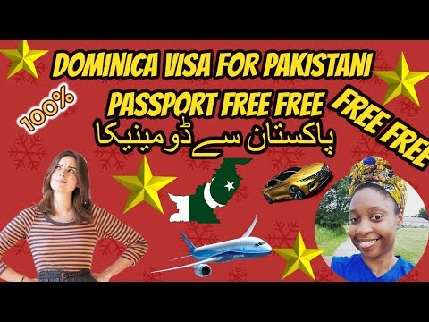 dominica visa free for pakistan 2018 [30day] by hassan sialkoti