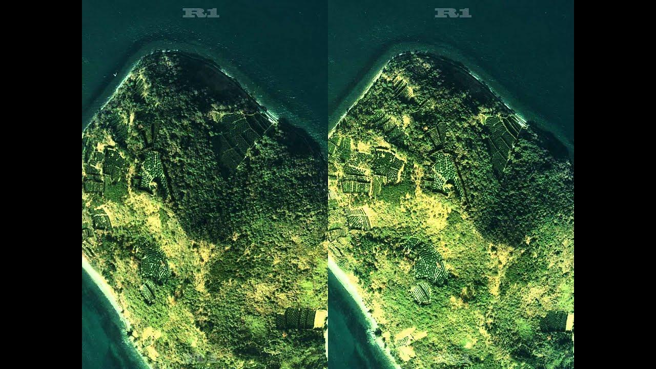 由利島 1974 3D・スクロールパノ...