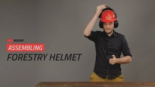 How To: Assemble the NoCry Forestry Helmet