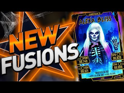 NEW HALLOWEEN FUSIONS!! WWE SUPERCARD SEASON 5