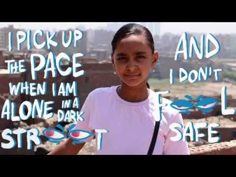 Make cities safer for girls on Intl Day of the Girl