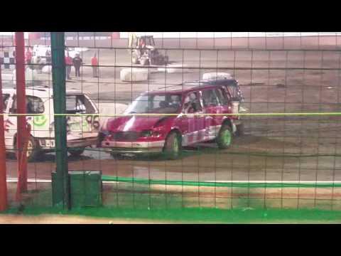 Demolition derby Sycamore Speedway -Vans 07/16