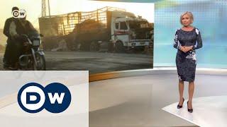 Bellingcat нашла часть снаряда РФ на месте гибели гумконвоя – DW Новости (23.09.2016)