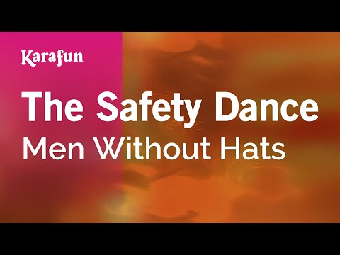 Karaoke The Safety Dance - Men Without Hats *
