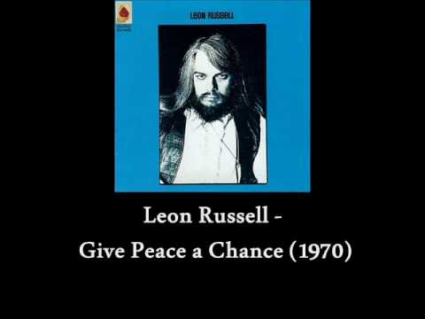 Leon russell give peace a chance