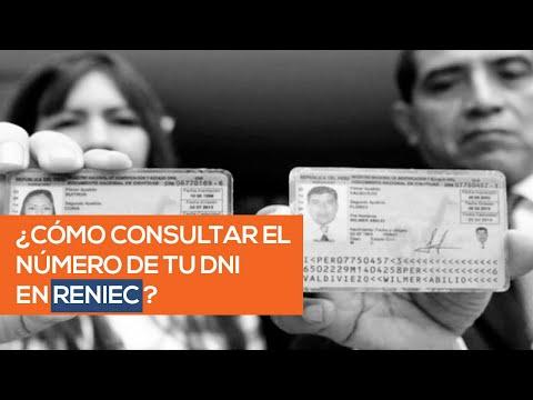 Consulta DNI Reniec: Aprende a consultar un número de DNI por Reniec en línea