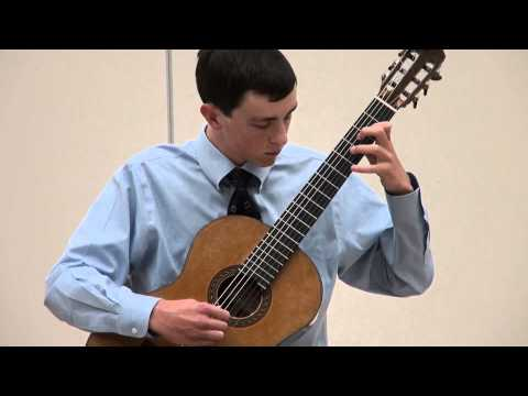 Alexander Stroud at Sacramento Guitar Society - Bach - Cello Suite #3
