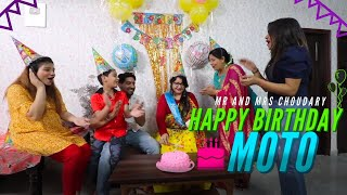 Happy Birthday Moto | Choudhary Family | Khushi Punjaban ft. Vivek Choudhary
