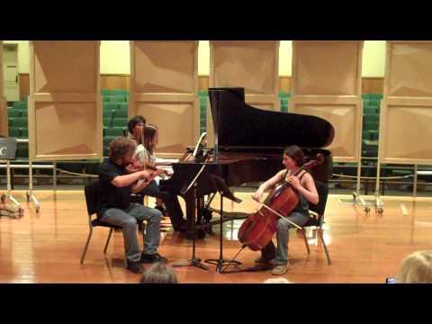 Schubert Piano Trio, Op.100 - Sequoia Chamber Music Workshop 2010/Week 1