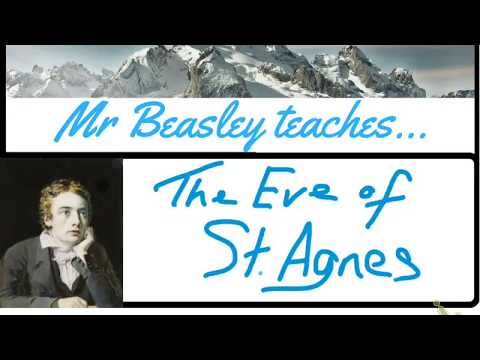 Analysis of The Eve of St Agnes