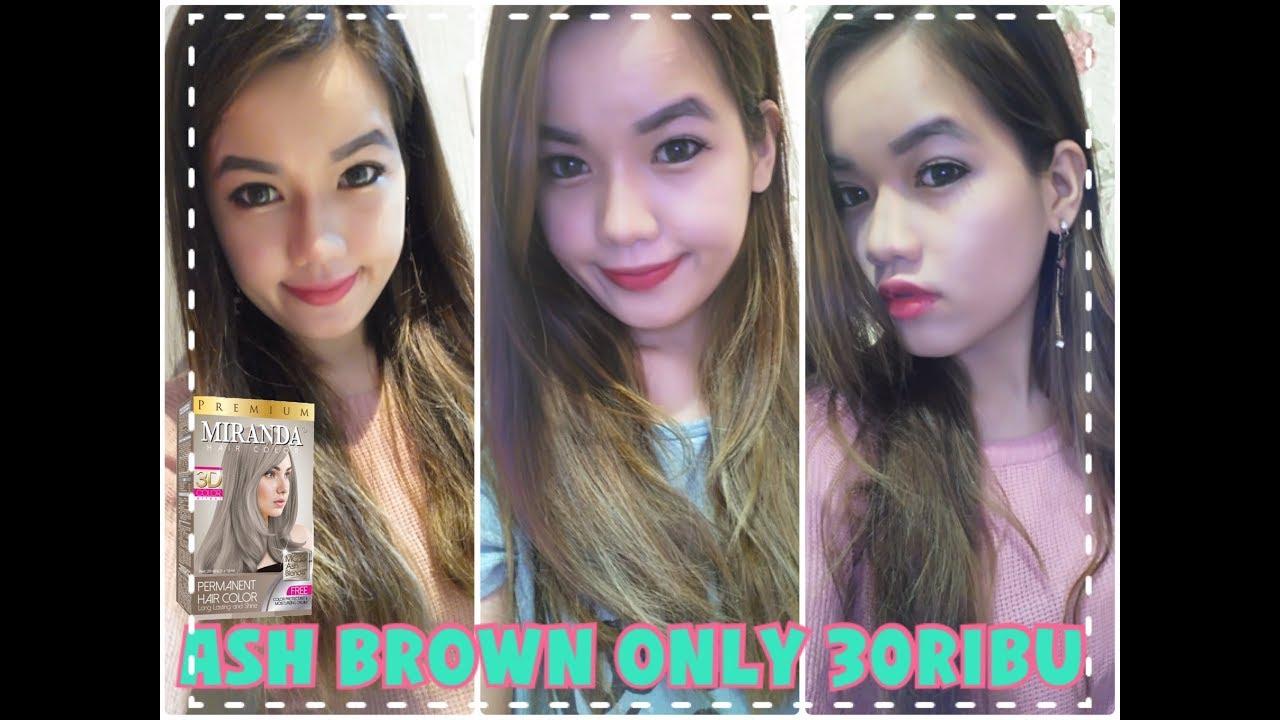 Rambut Ash Brown Hanya Rp 30000 Miranda Ash Brown Mc 16 Review