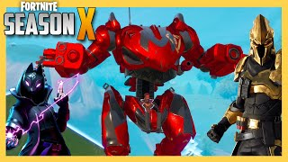 Fortnite Season X - New Skins, Dances, All Battle Pass Tiers, Challenges, Mechs, and More