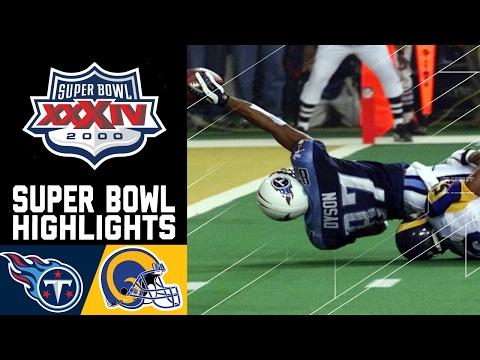 Super Bowl XXXIV Recap: Rams vs. Titans | NFL