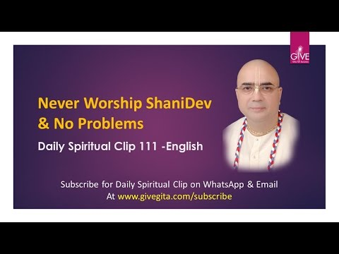 Never Worship ShaniDev & No Problems -DSC#111