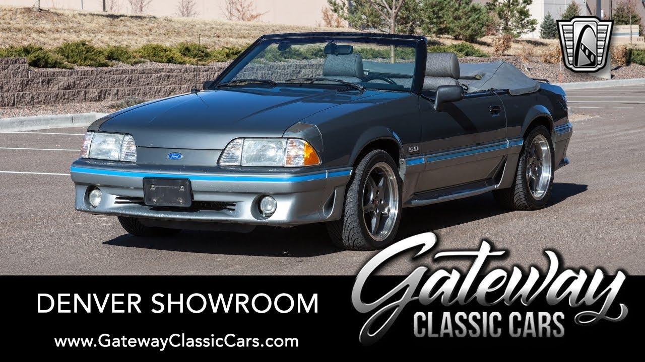 1989 Mustang Cobra Gt