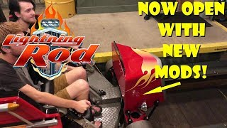 Lightning Rod Officially Re-Opens With New Modifications at Dollywood!
