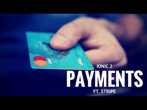 Ionic 2 - Payment processing using Stripe