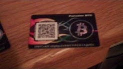 Bit-Card Bitcoin Wallet Cards